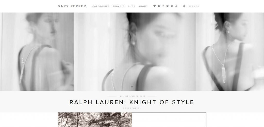 Gary Pepper Girl Homepage