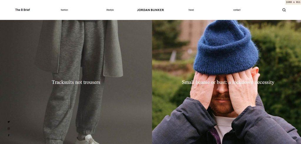 Jordan Bunker Homepage