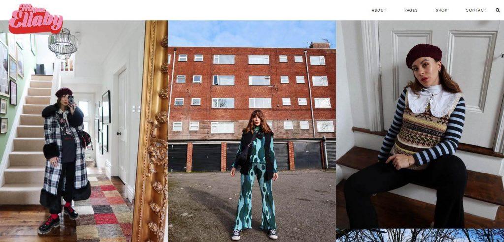 Megan Ellaby Homepage