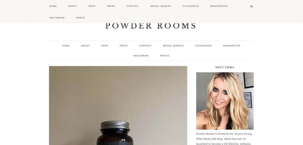 Powder Rooms Homepage