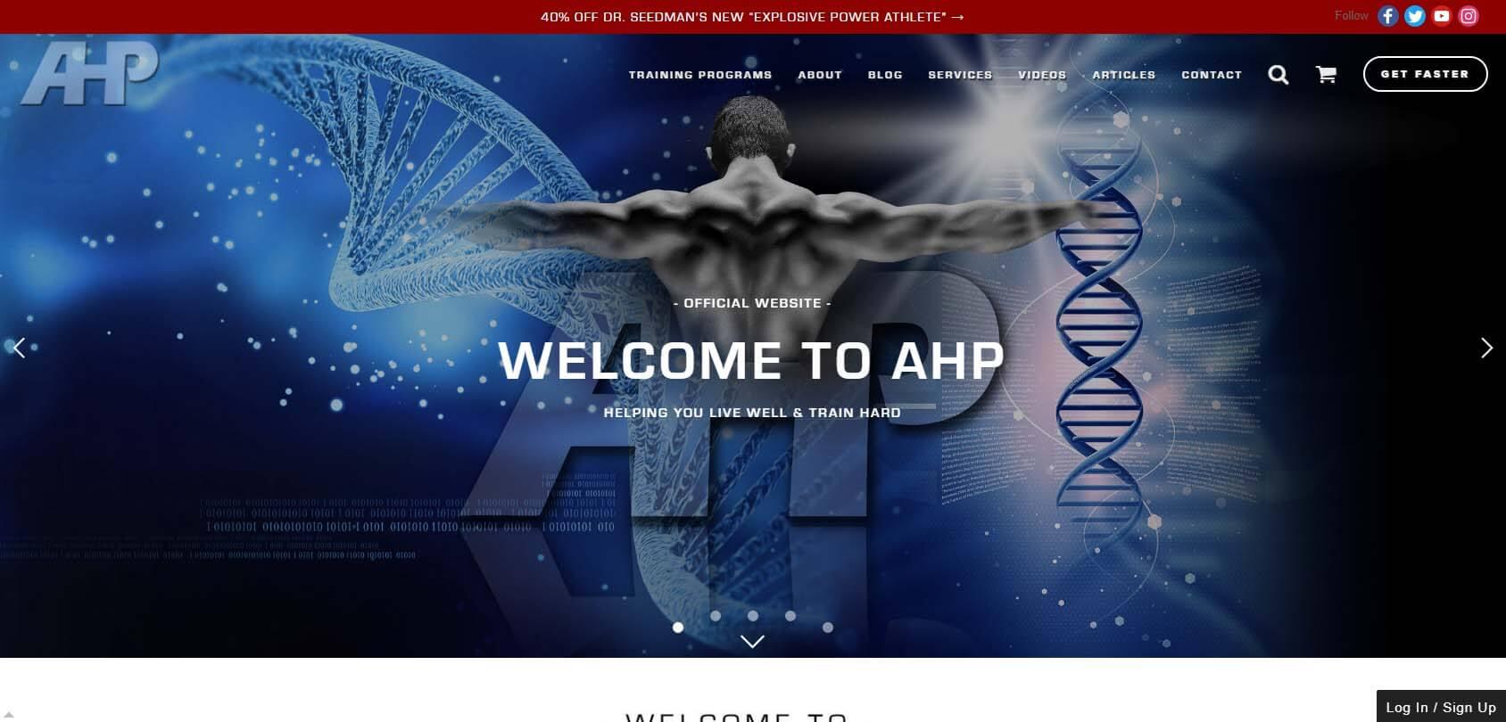 Advanced Human Performance Homepage