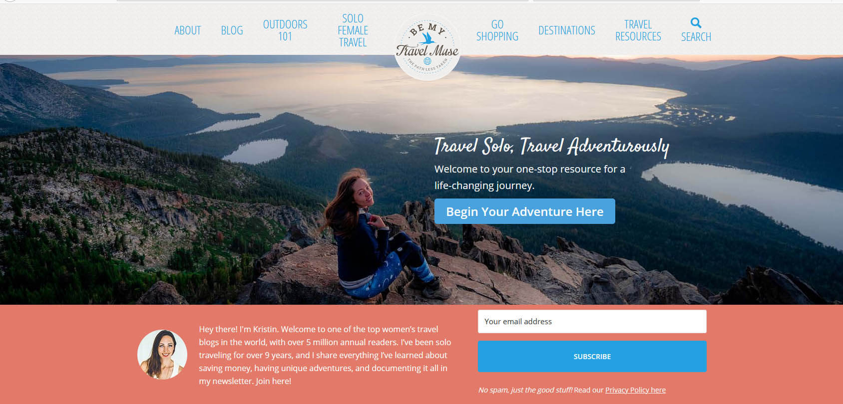 Be My Travel Muse Homepage