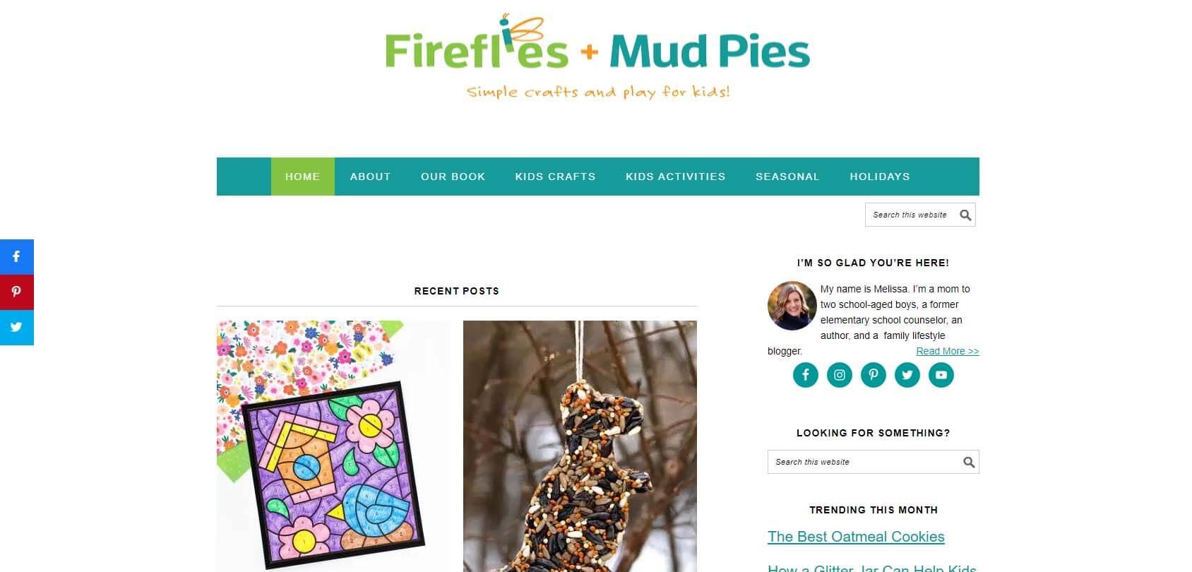 Fireflies & Mudpies Homepage