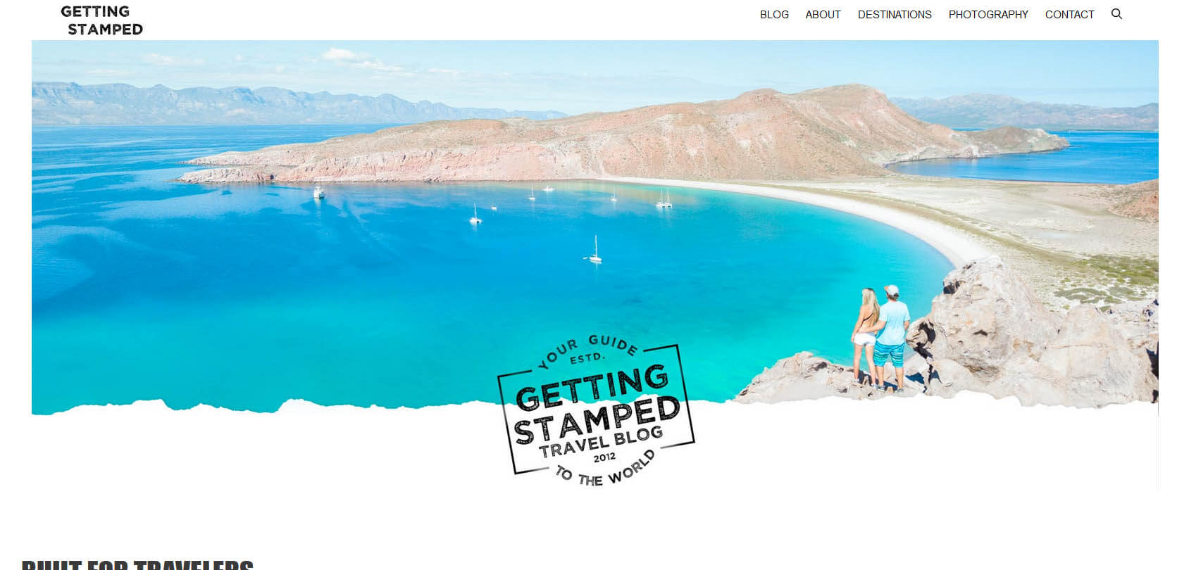 Getting Stamped Homepage