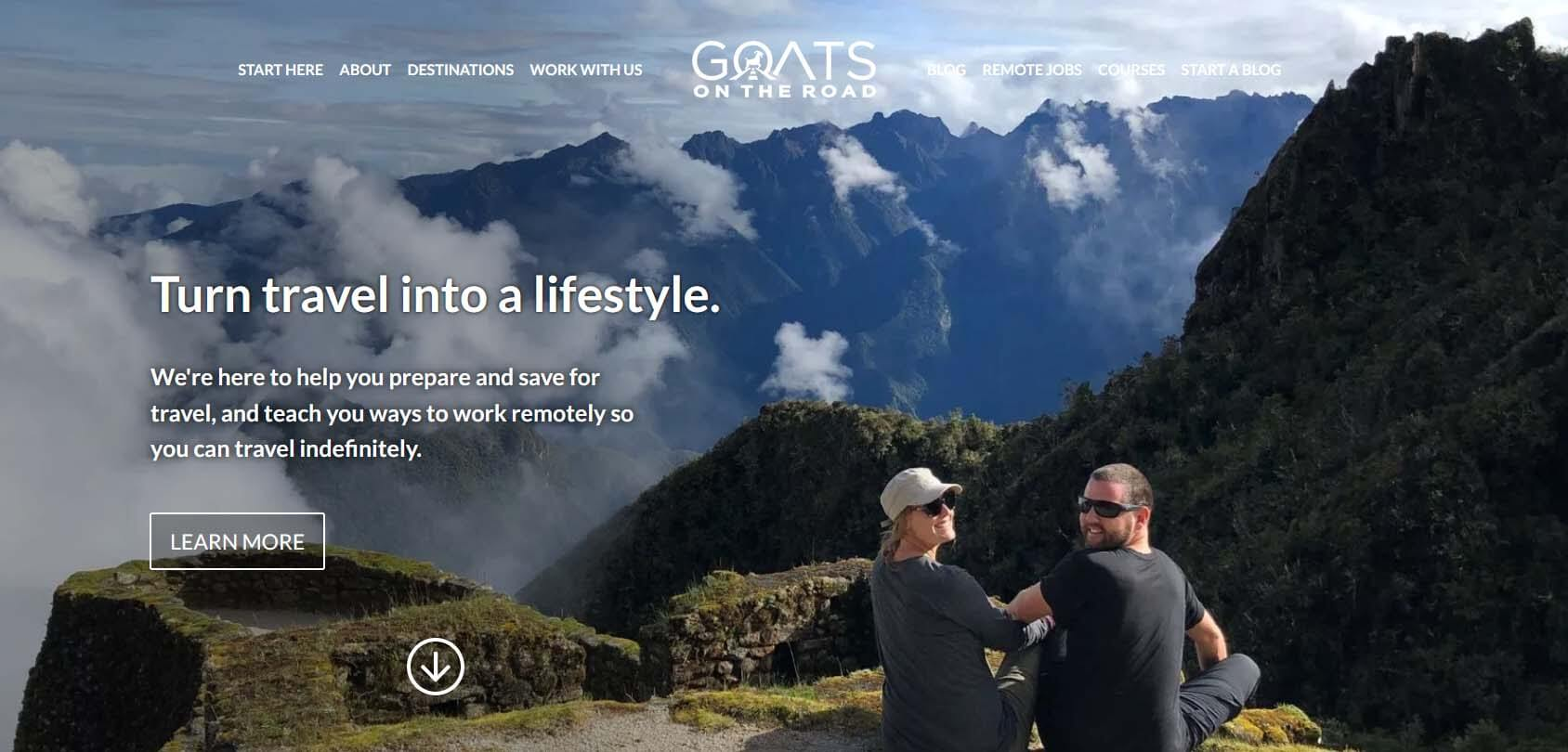 Goats on the Road Homepage