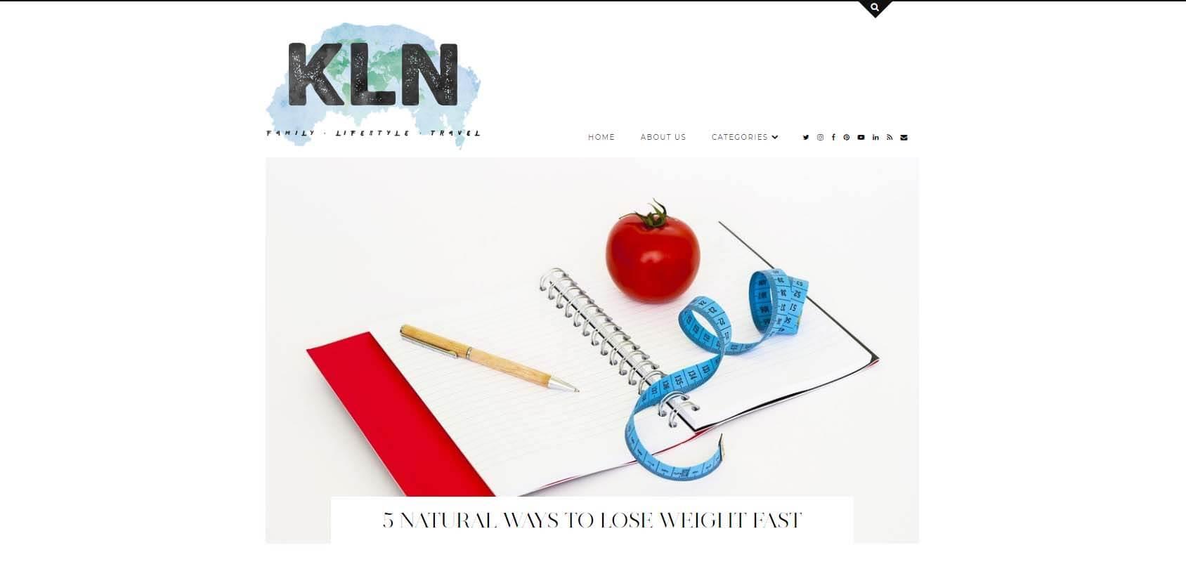 Kerry Louise Norris Homepage