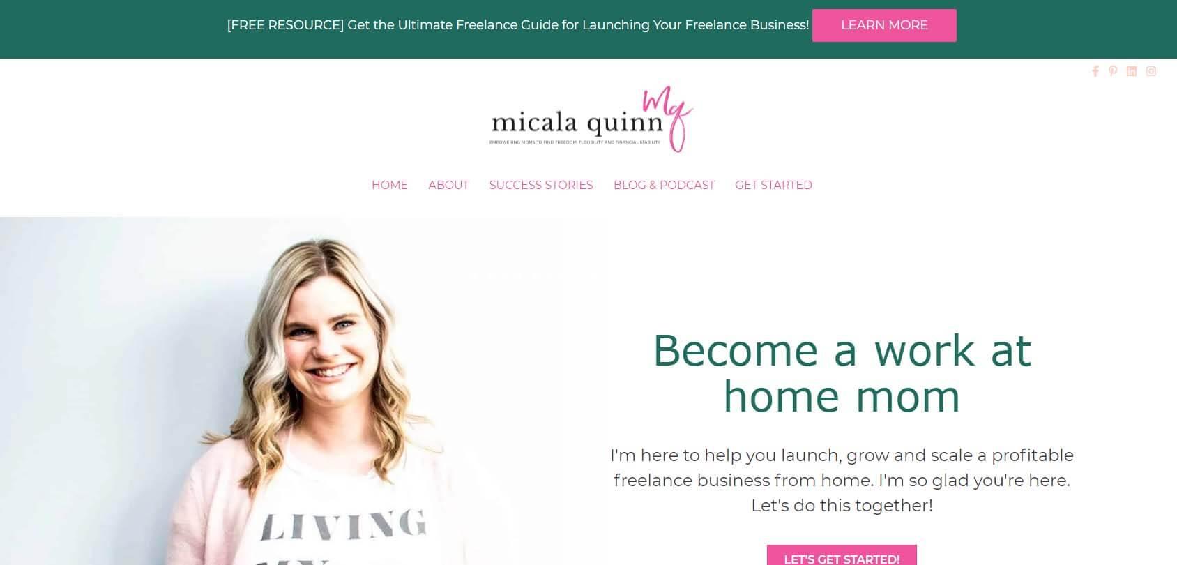 Micala Quinn Homepage