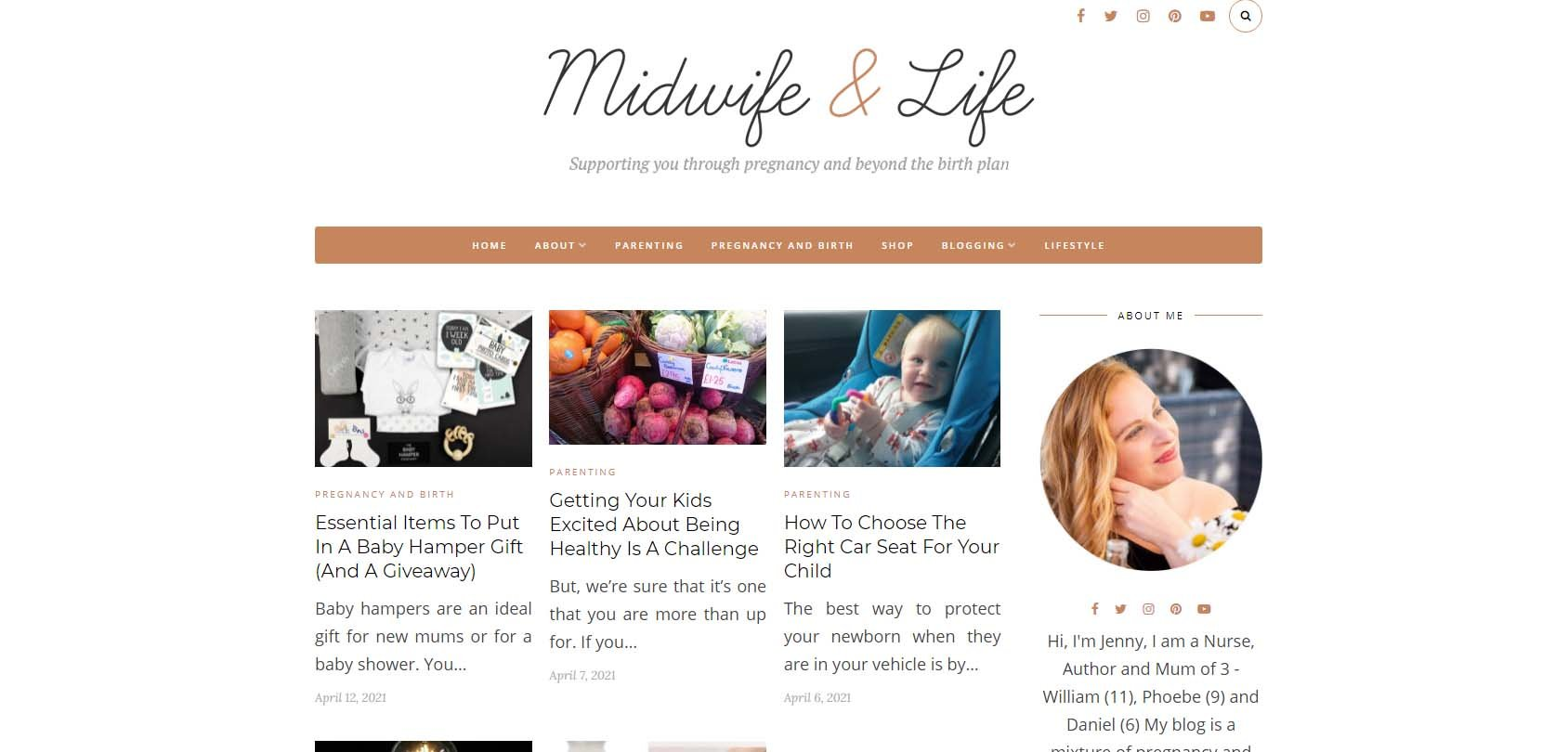 Midwife and Life Homepage