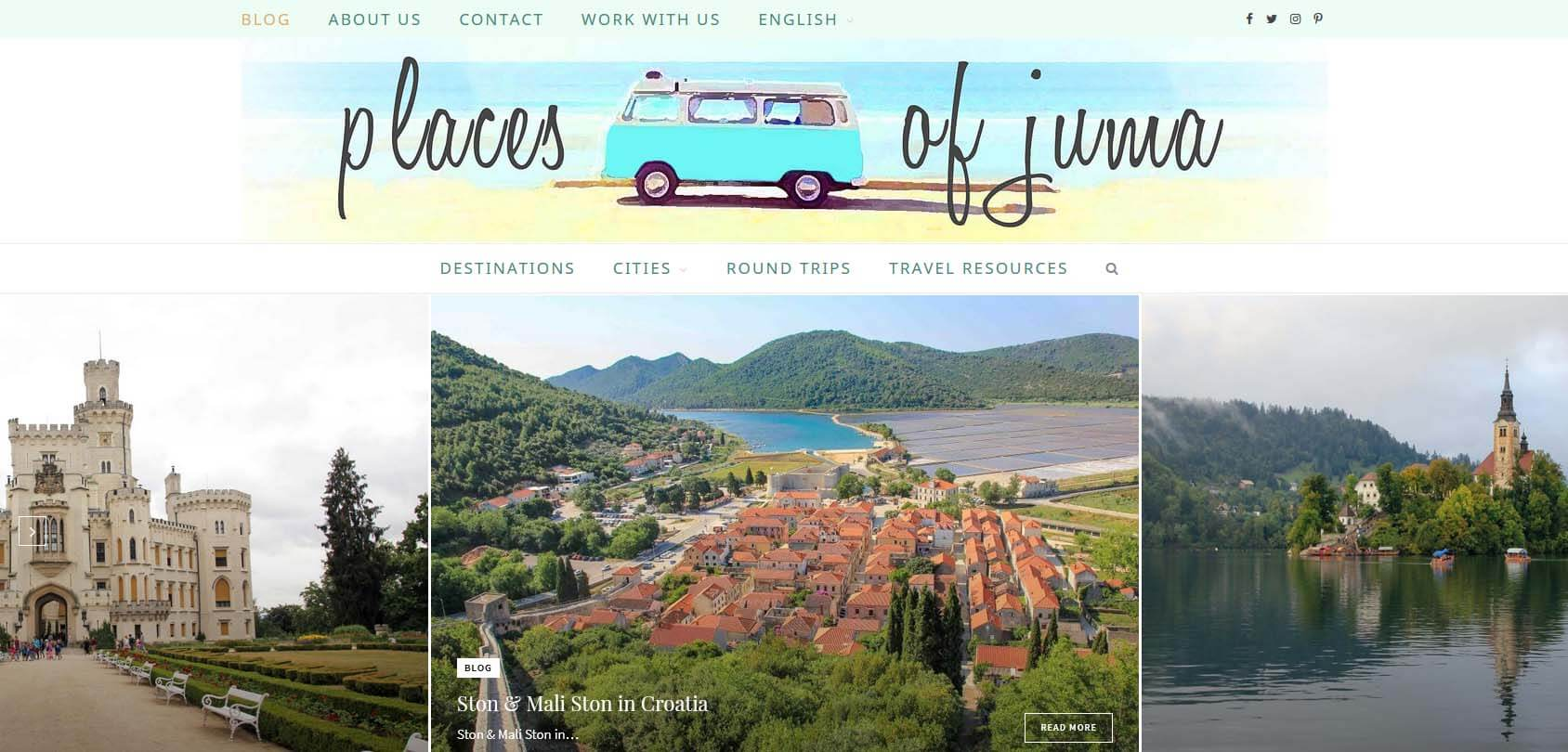 PlacesofJuma Homepage