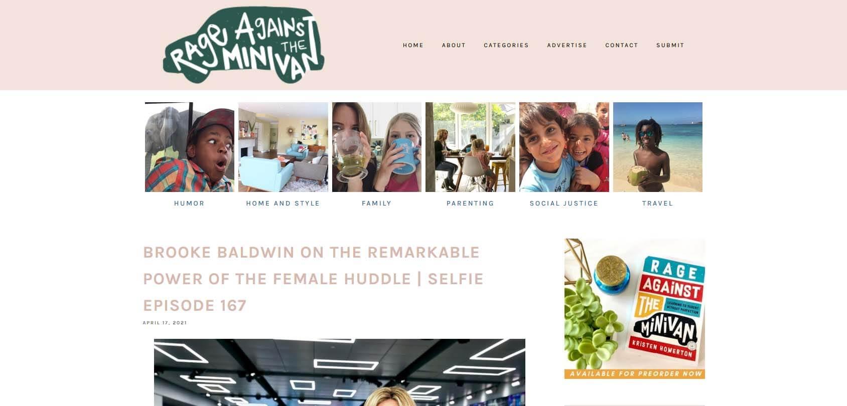 Rage Against the Minivan Homepage