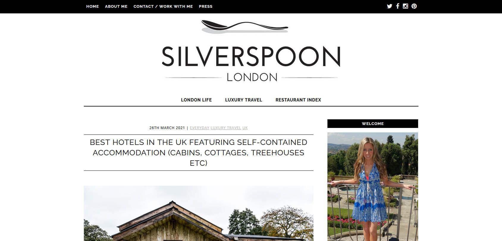 SilverSpoon London Homepage