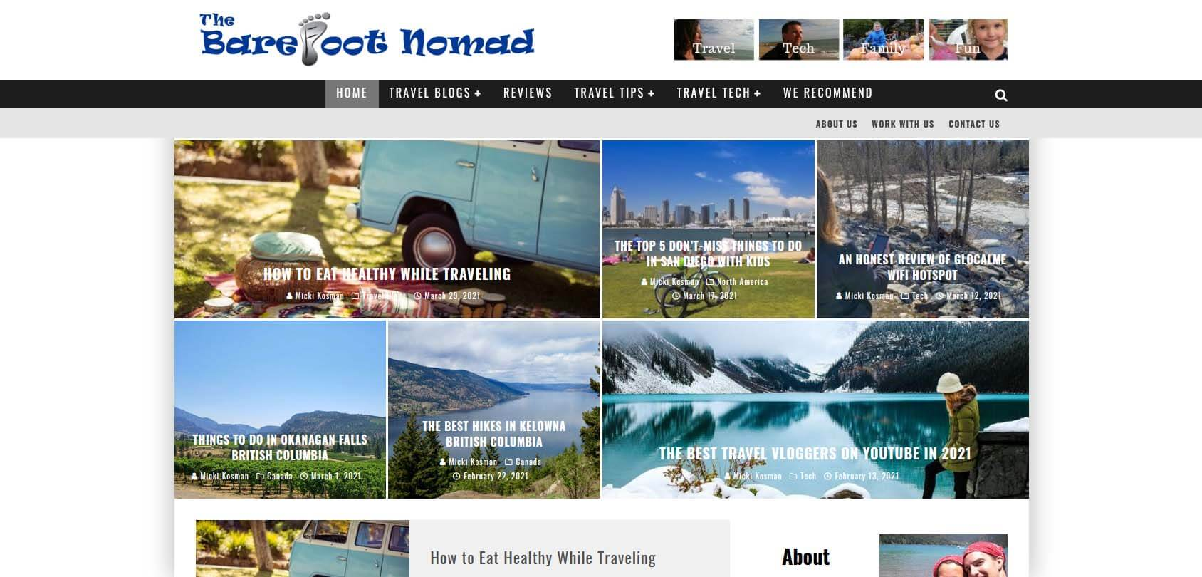 The Barefoot Nomad Homepage