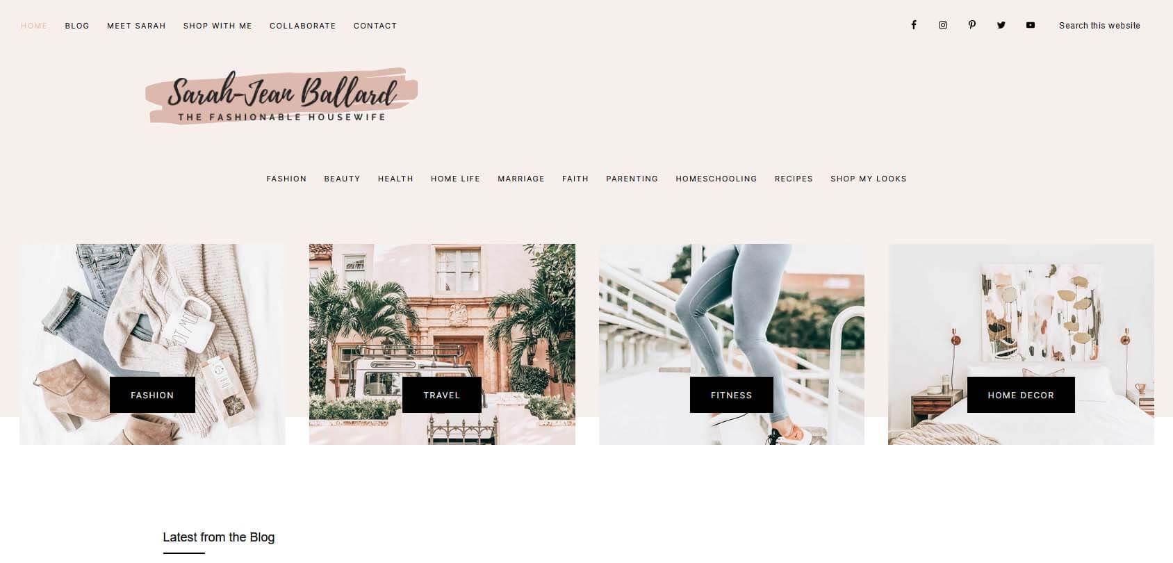 The Fashionable Housewife Homepage