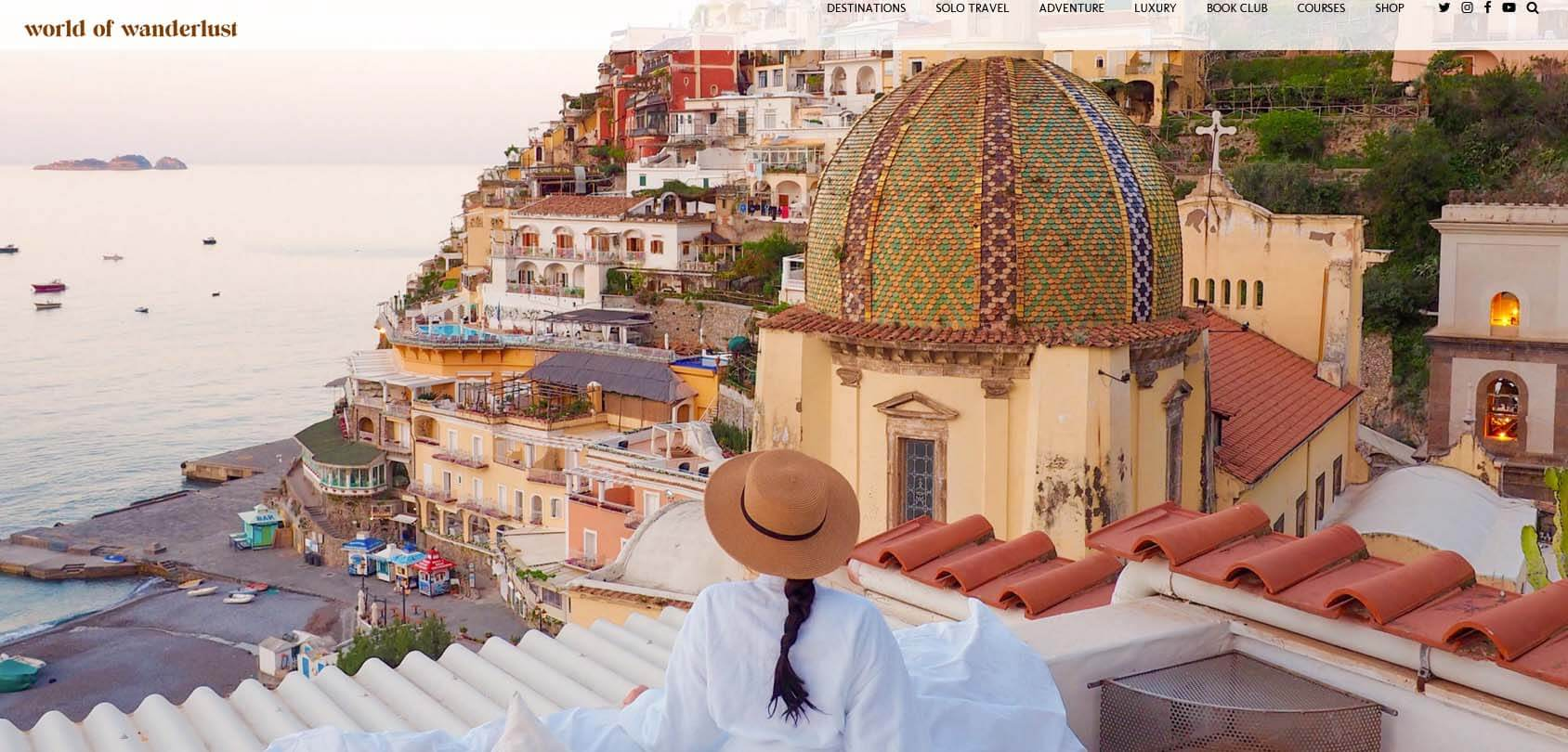 World of Wanderlust Homepage