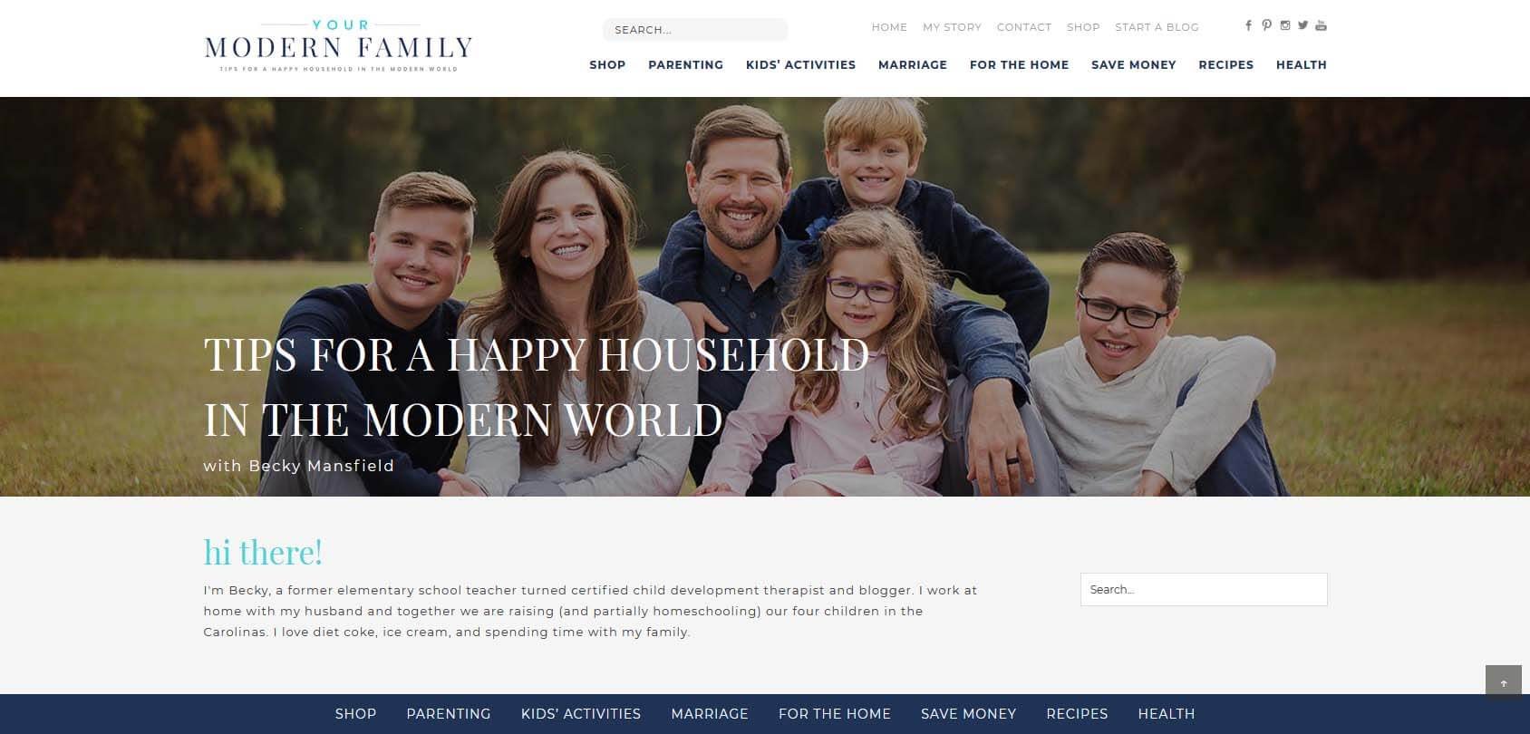 Your Modern Family Homepage