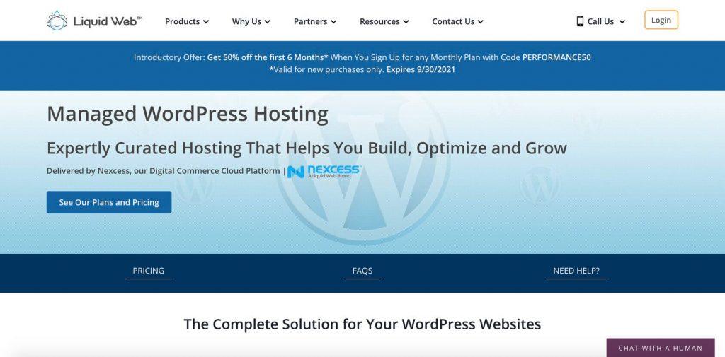 liquidweb managed hosting