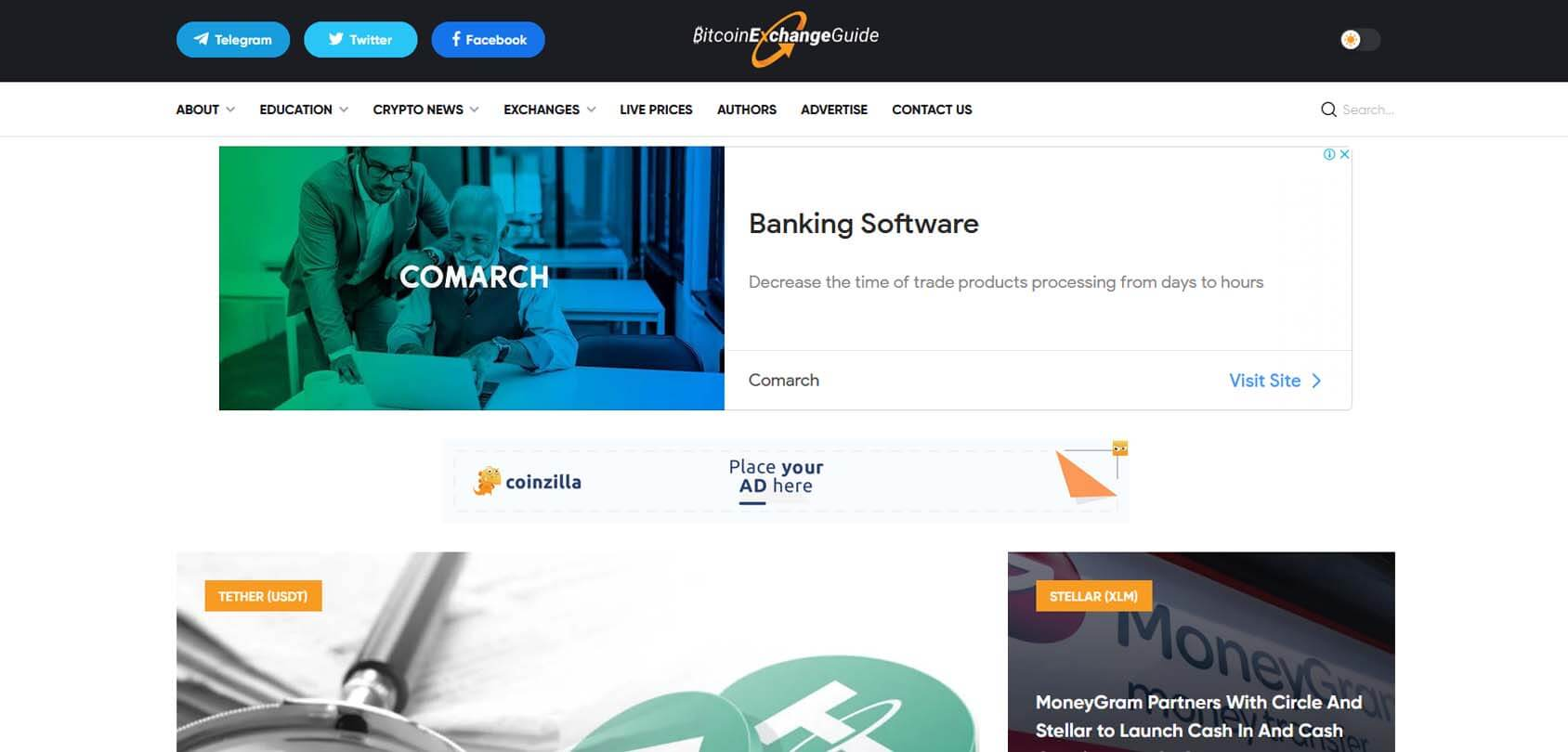 Bitcoin Exchange Guide Homepage