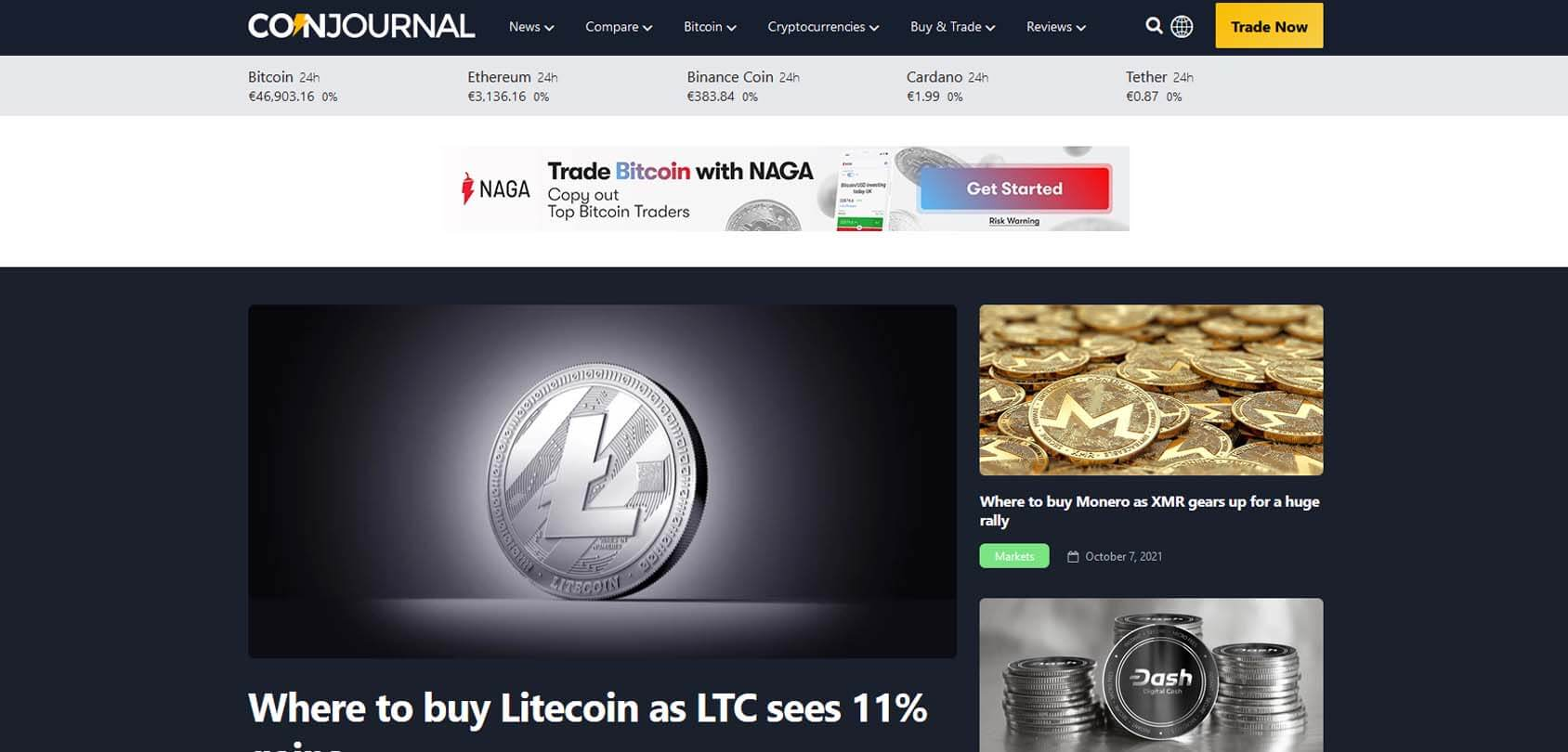 CoinJournal Homepage
